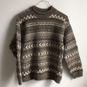 Vintage Eddie Bauer Wool Pullover Sweatshirt
